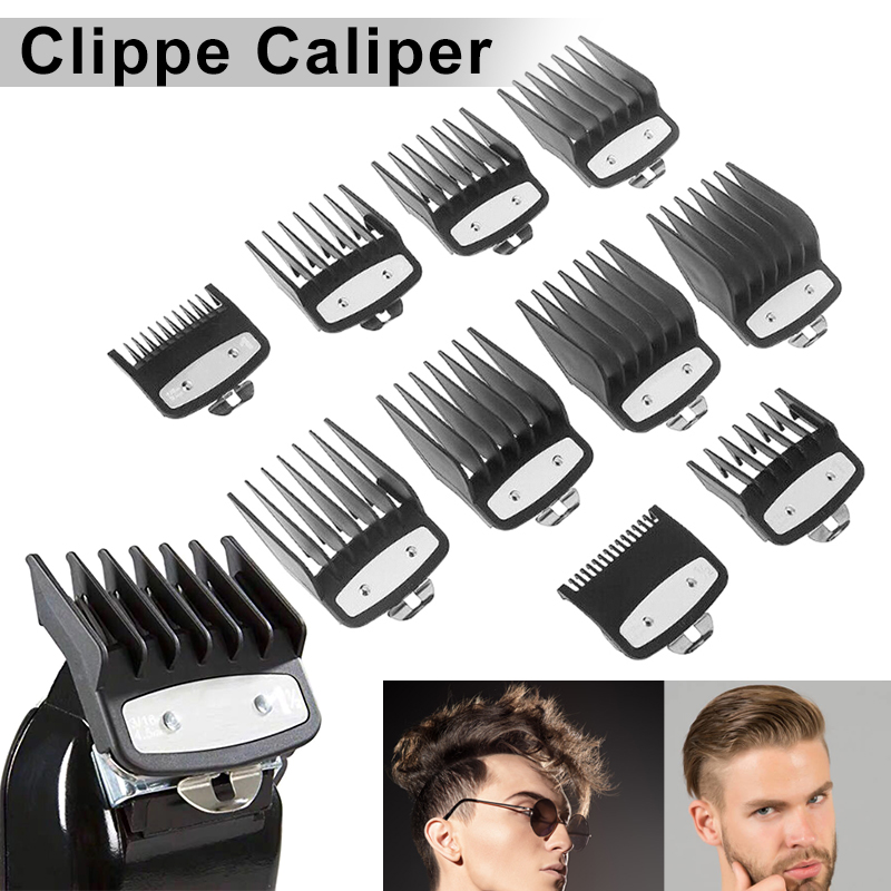 Hot Clipper Guard Set Attachment Combs Portable Durable Metal For Wahl Premium Home High Quality Man Male T6