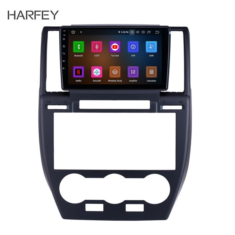 Harfey 9 Inch Android 9.0 For 2007 2008 2009-2012 Land Rover Freelander Radio Bluetooth HD Touchscreen GPS Navigation Carplay Su