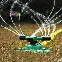 Adjustable Garden Sprinklers Automatic Watering Grass 360 Degree Rotating 3 Sprayer Nozzle Circle Garden Lawn Irrigation System|Garden Sprinklers|   -