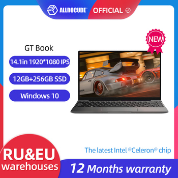 ALLDOCUBE GT Book Windows 10 Laptops 12GB LPDDR4  256GB SSD  Intel Celeron N5100 1920×1080 IPS Notebook 14.1 inch WiFi6 1