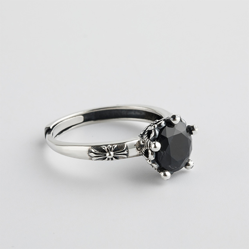 925 Sterling Silver Open Rings for Women 7