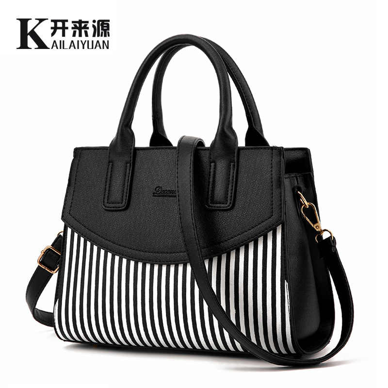 100% Genuine leather Women handbags 2019 new female fashion handbag bag tide shoulder bags of western style air bag