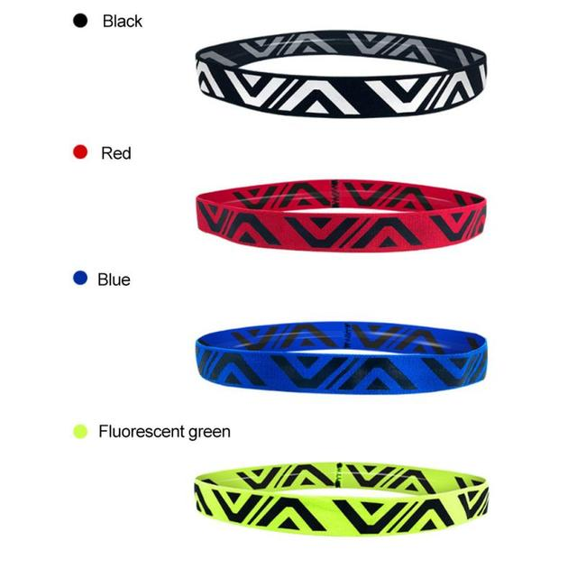 1PCS Sweat Guiding Belt Gym Headband Anti-Slip Breathable Yoga Hair Band Unisex Outdoor Running Sport Hair Band Sweatband 1
