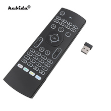 Controle remoto de voz inteligente backlit mx3 mouse ar 2.4g rf teclado sem fio ir aprendizagem para android 9.0 caixa tv x96 h96 max a95x