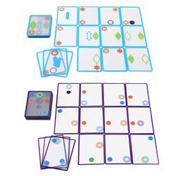 Juguete de entrenamiento lógico espacial para niños, tarjeta de deseo superpuesta, excelente plástico ABS, juego duradero prolongado para niños, regalo