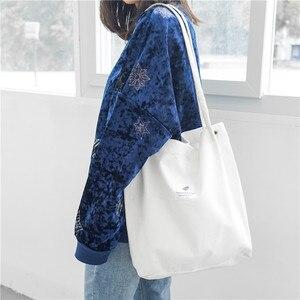 Image 5 - Ougger kadın omuz çantaları çanta yüksek kaliteli gri kadife çile büyük kapasiteli moda İngiltere tarzı alışveriş kova çantası
