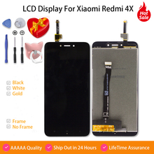 AAAAA Display For Redmi 4x LCD Touch Screen Digitizer Assembly Replacement For Xiaomi Redmi 4x Pro Prime 5.0'' LCD Display все цены