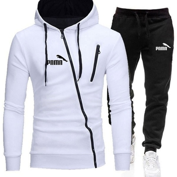 2020 Men's Sets Brand Sportswear Tracksuits Sets Men's Zipper Sporting Hoodies+Pants Sets casual Outwear sports Suits men Hoodie men set 2020 autumn casual hooded sweatshirts male sporting suits men s sportswear tracksuits hoodies pants 2pcs sets moletom