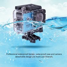 цена на Action camera 1080P waterproof underwater Sport camera 2.0 Inch Driving Recorder Action Camera for Sports Photography