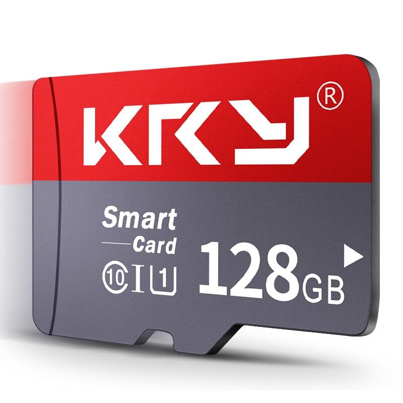 KRY Geheugenkaart 32GB 16GB 8 GB 128 GB 64GB Microsd-kaart C10 Micro TF Sd-kaart 8 16 32 64 128 GB Cartao De Memoria Kaart Adapter