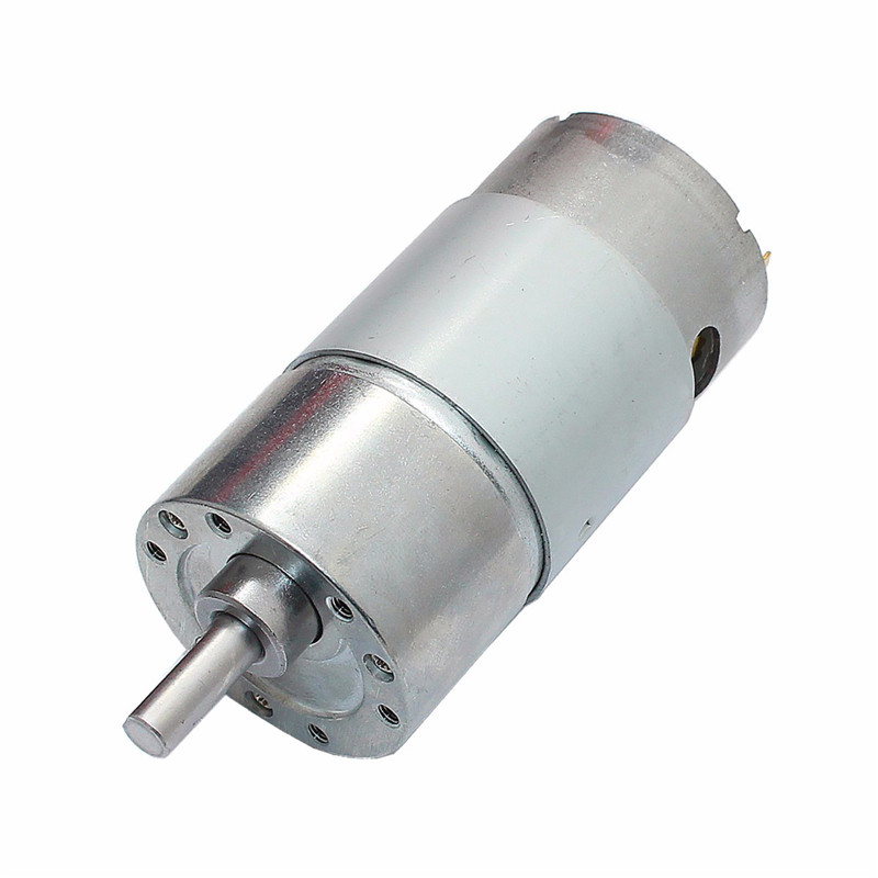 1pc DC <font><b>12V</b></font> 300RPM Geared <font><b>Motor</b></font> High Torque 37GB-<font><b>550</b></font> Gear Reducer <font><b>Motor</b></font> image
