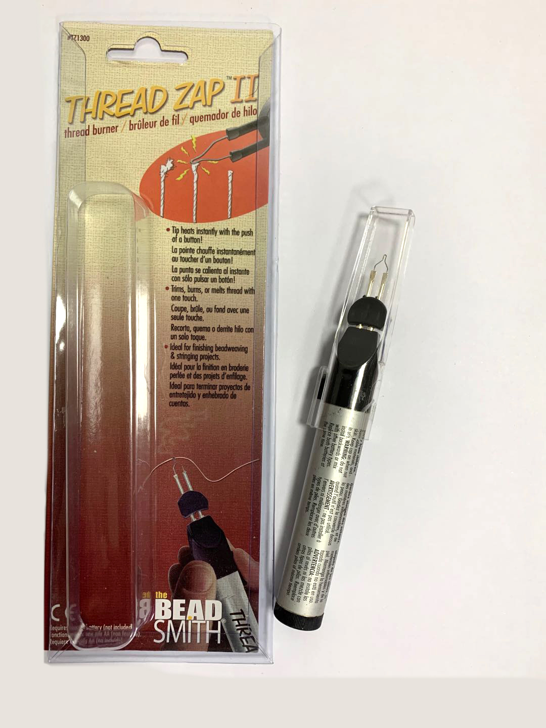 Bead Smith Thread Zap II 2 Welding Crayons Thread Burner For Jewelry Tools Welding Wax Pen