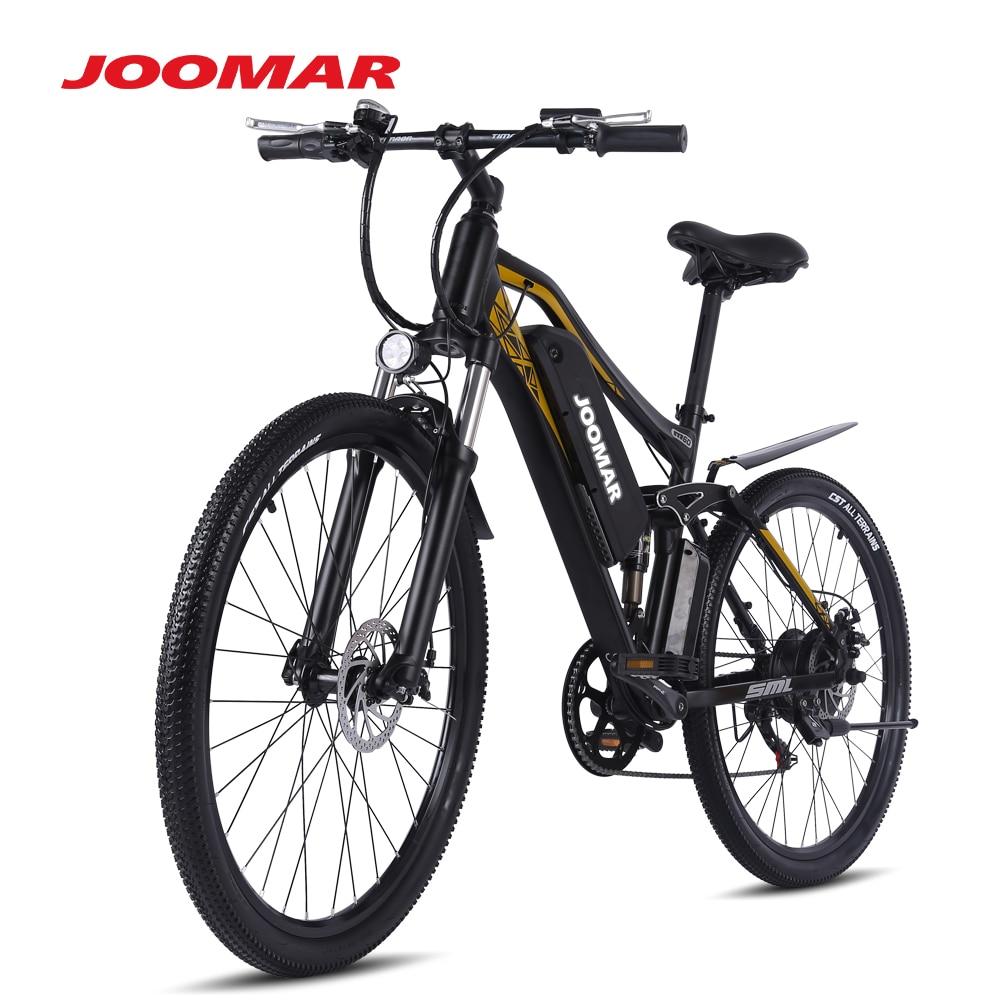 Электровелосипед JOOMAR, горный велосипед 500 Вт, электровелосипед для снега, спортивный пляжный велосипед 48 в 17 Ач, алюминиевый сплав, электров...