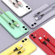 Olaf 3A Fast Charging Liquid Cable Micro USB Type C Cable For Samsung Xiaomi Huawei Android Data Cord Microusb USB C Charger