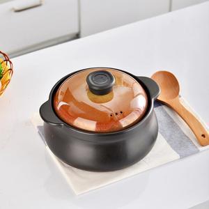 2020 новая керамическая кастрюля для супа, Бытовая газовая кухонная кастрюля, огнеупорная жаростойкая кастрюля