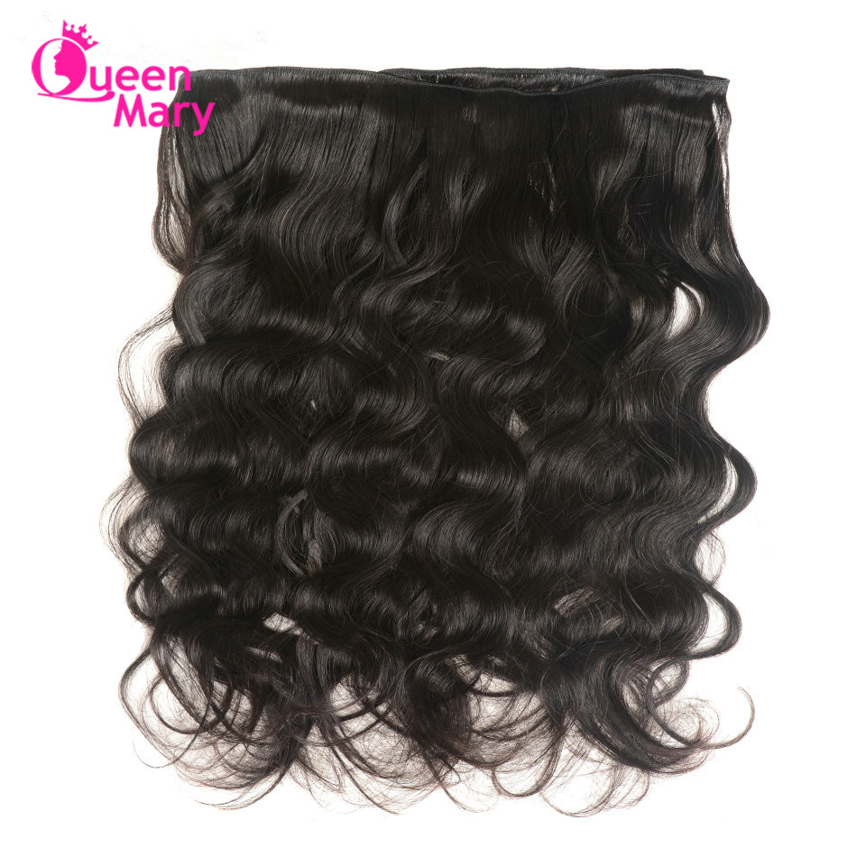 Image 3 - Peruvian Hair Bundles with Closure Body Wave Bundles with Closure 3 Bundles with Closure Queen Mary Non Remy 100% Human Hair-in 3/4 Bundles with Closure from Hair Extensions & Wigs