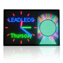43x28in P8MM наружный светодиодный рекламный щит Водонепроницаемая полноцветная светодиодная панель супер яркое сообщение от LAN Программирование