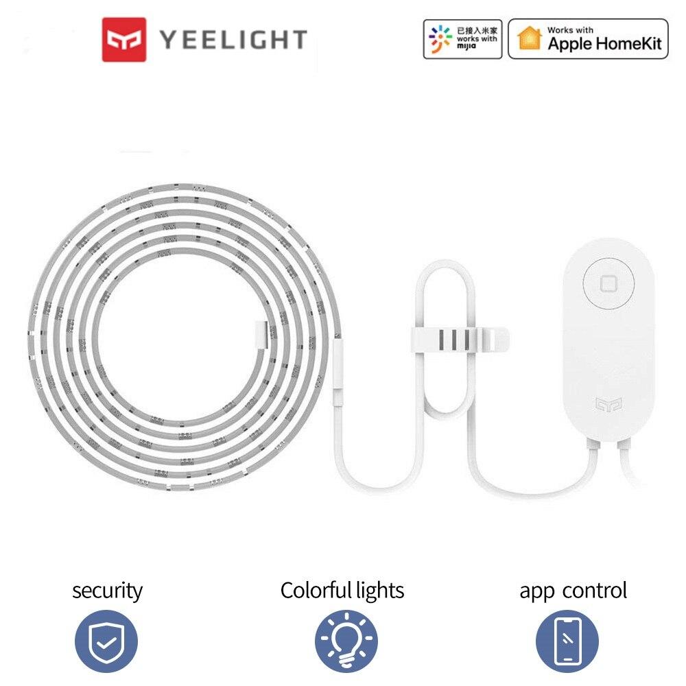 Yeelight Smart Light Strip Christmas Decorations For RGB LED Strip Light Led Ribbon For Alexa Google Mi Home Control