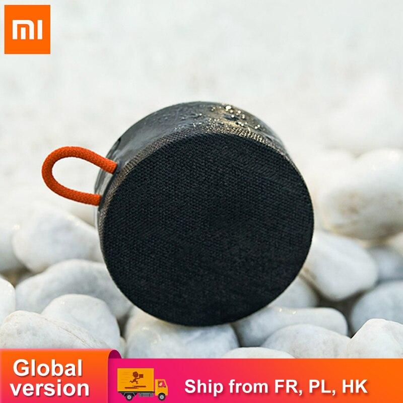 Xiaomi-altavoz Mi IP67 con Bluetooth, altavoz portátil a prueba de polvo y agua, minialtavoz estéreo de graves con conexión dual, batería de 2000mAh