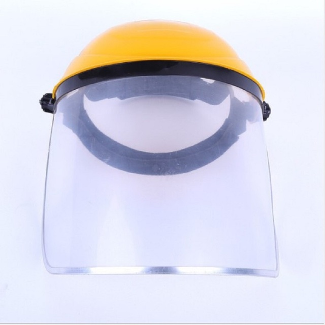 Dustproof Mask Transparent PVC Safety Faces Shields Screen Spare Visors Head helmet Respiratory protection Anti-Saliva Splash 1