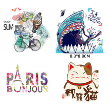 ZOTOONE Iron On Letter Patches Thermal Heat Transfer Badges Washable New Design Diy Accessory Clothing Deco Appliques For Kids H