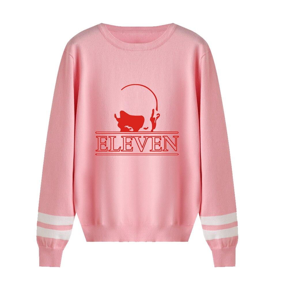 Hot Sale Stranger Things Sweater Knitting Men/women Fashion Print High Quality O-neck Sweater Stranger Things Sweater Casual Top