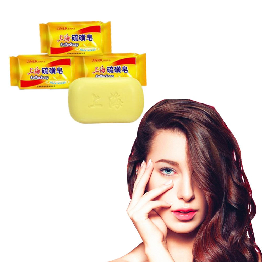 Skin Condition Of Traditional Sulfur Soap In Shanghai Acne Psoriasis Ointment Seborrheic Eczema Antifungal Bath Whitening Soap
