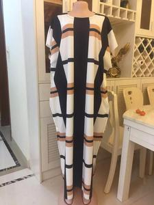Image 1 - 2020 nowa afrykańska druku elastyczne bazin workowate spodnie rock style dashiki letnie sukienki dla pani/kobiety