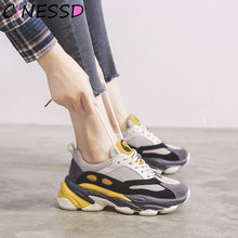 Winter Platform Cushioning Sneakers Women Stylish Light Weight Running Shoes for Women Air Sport Shoes Woman Sneakers Running(China)