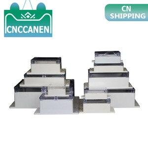 Image 1 - 新diy absプロジェクトボックスIP65 小型電子機器プラスチック防水ジャンクションボックススイッチボックス 6 サイズ