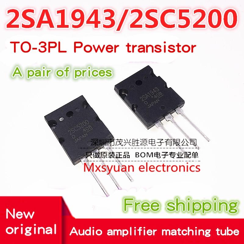 2 paar 2SA1943 /& 2SC5200 PNP Power Transistor CN