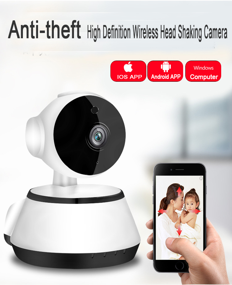 Night vision WiFi wireless IP camera home security surveillance Wireless CCTV