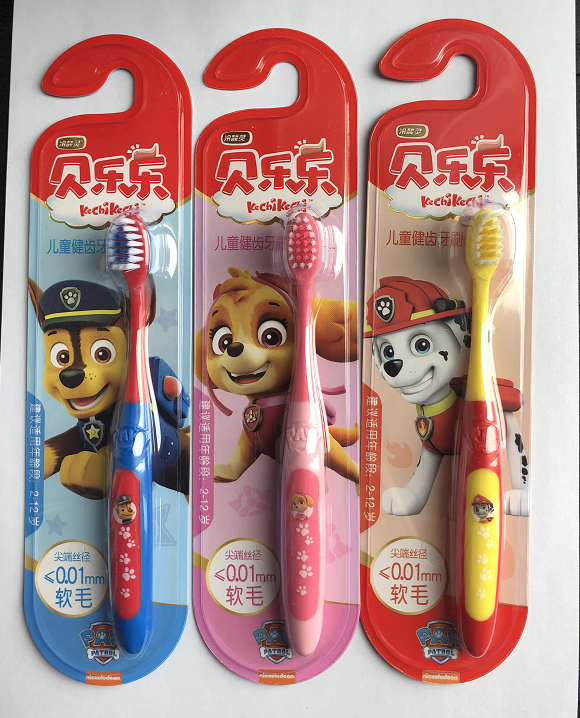 HOT Genuine Paw patrol Baby toothbrush chase Marshell shye Mouthwash cup 2-12 years original box children Christmas gift toys image