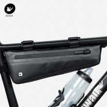 Borsa triangolare per bicicletta rhinestone owalk telaio per bici borsa per tubo anteriore borsa per ciclismo impermeabile borsa per valigie borsa per imballaggio accessori