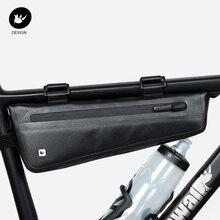 Rhinowalk vélo Triangle sac vélo cadre avant Tube sac étanche vélo sac batterie sacoche emballage pochette accessoires