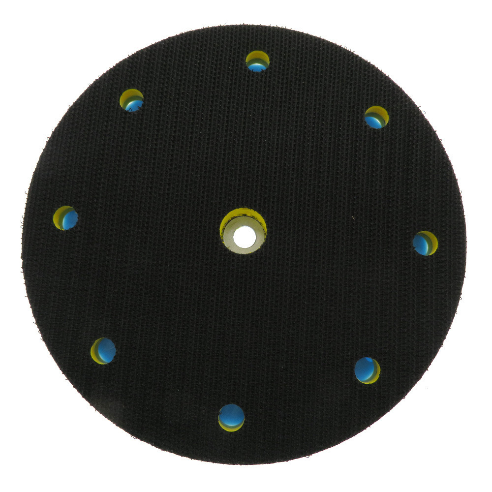 Universal M8 Thread 9 Hole Flocking Sanding Backing Pad <font><b>Sander</b></font> <font><b>Tool</b></font> Accessories image