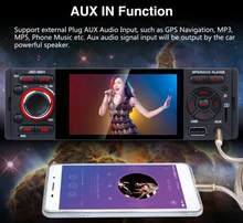 20pcs Touch Screen Bluetooth Car Radio 1 Din Mirror Link Stereo Audio MP5 Video Player USB MP3 TF JSD-3001(China)