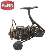 Oryginalny Penn Clash CLA 3000 8000 Spinning Fishing Reel 8 + 1BB Full Metal Body słonowodne HT 100 Bass Wheel dla karpia Pesca
