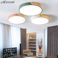 LED nordique moderne plafonniers chambre télécommande pour 8-20 mètres carrés plafonnier LED luminaire candeeiro de teto