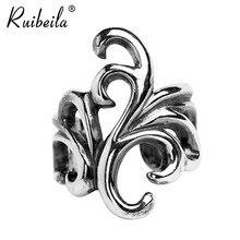 Boucles d'oreilles en argent sterling 925, faux cartilage, fleur en rotin, bijoux pour hommes