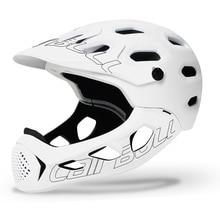 Cairbull ALLCROSS MTB yeni dağ kros bisiklet tam yüz kask ekstrem sporlar emniyet kaskı kasko ciclismo bicicleta