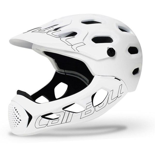 Cairbull allcross mtb nova montanha cross country bicicleta rosto cheio capacete de segurança esportes radicais capacete casco ciclismo
