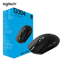 Logitech G304 LIGHTSPEED Wireless Gaming Mouse 2.4G Wireless HERO Engine 12000DPI For LOL PUBG Fortnite Overwatch CSGO