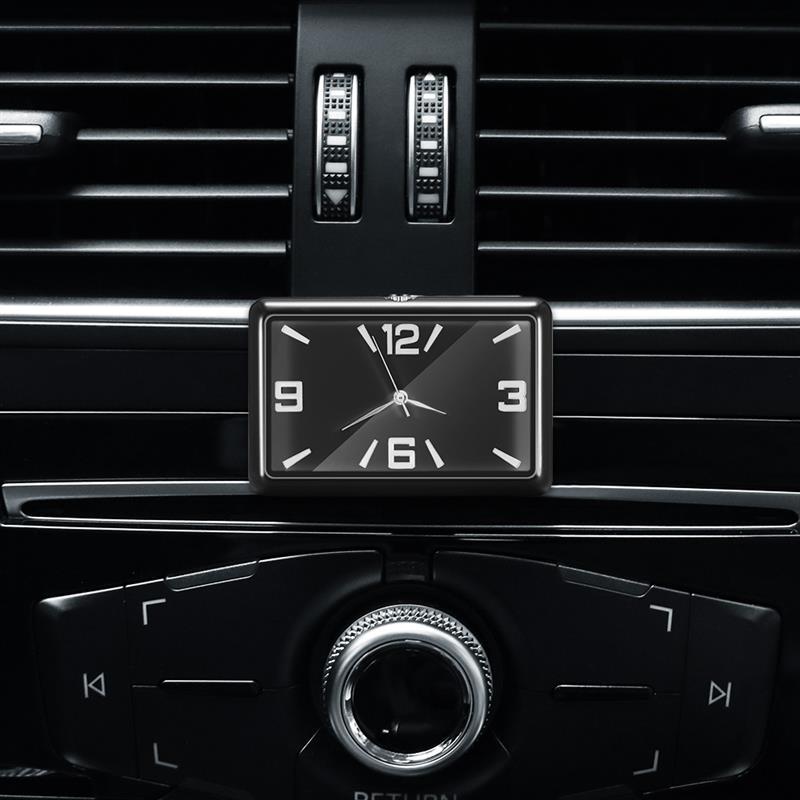 AOZBZ Высокое качество авто модные часы автомобильные кварцевые часы модные украшения автомобиля украшения транспортного средства|Часы|   | АлиЭкспресс