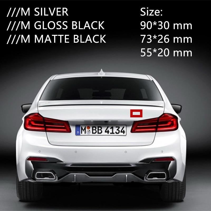 S Drive Silver For X6 V8 E92 E93 X5 X3 E63 Fender Badge Metal Car Trunk Side Auto Emblem Logo 3D Adhesive Hq Chrome 2 Pieces TOTUMY
