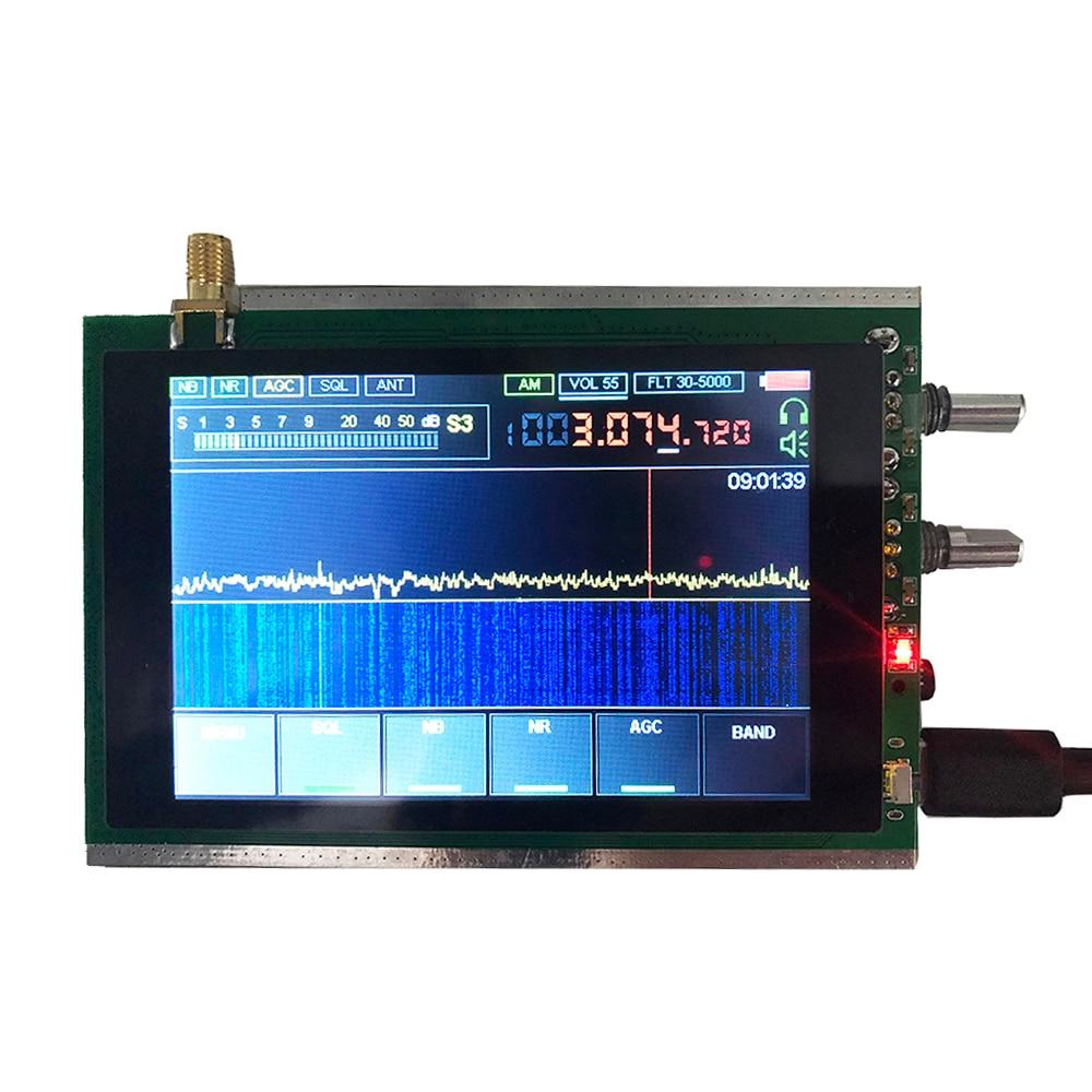 3,5 дюймовый сенсорный экран SDR HAM приемопередатчик приемник 50 кГц-200 МГц Малахитовый SDR радио Malahit DSP STM32H742 генератор сигналов