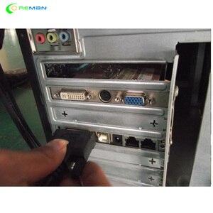 Image 2 - Лучшая продажа LINSN отправка карты TS802D для полноцветного видео, светодиодный дисплей, детали контроллера системы