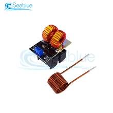 Dc 12v 20a 120w mini placa de aquecimento por indução zvs flyback driver aquecedor diy fogão + bobina ignição venda quente