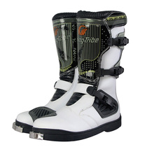 Professional Mens PRO BIKER Motorcycle Riding Boots Racing Motocross Boots Motorbike Breathable Boots botas Shoes
