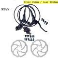 MTB велосипедный тормоз Гидравлический BR BL M355 с ротором дисковый тормоз для горного велосипеда левый и правый рычаг набор Аксессуары для вел...